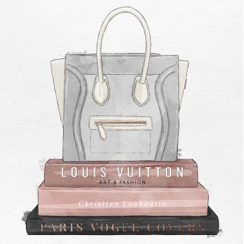 My Fancy Purse And Books Artwork Oliver Gal - Jordans Interiors