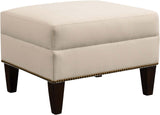Woodlands Ottoman Ottoman Stickley - Jordans Interiors