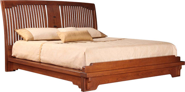 Oak Knoll Spindle Platform Bed Stickley - Jordans Interiors