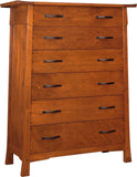 Oak Knoll Tall Chest Chest Stickley - Jordans Interiors