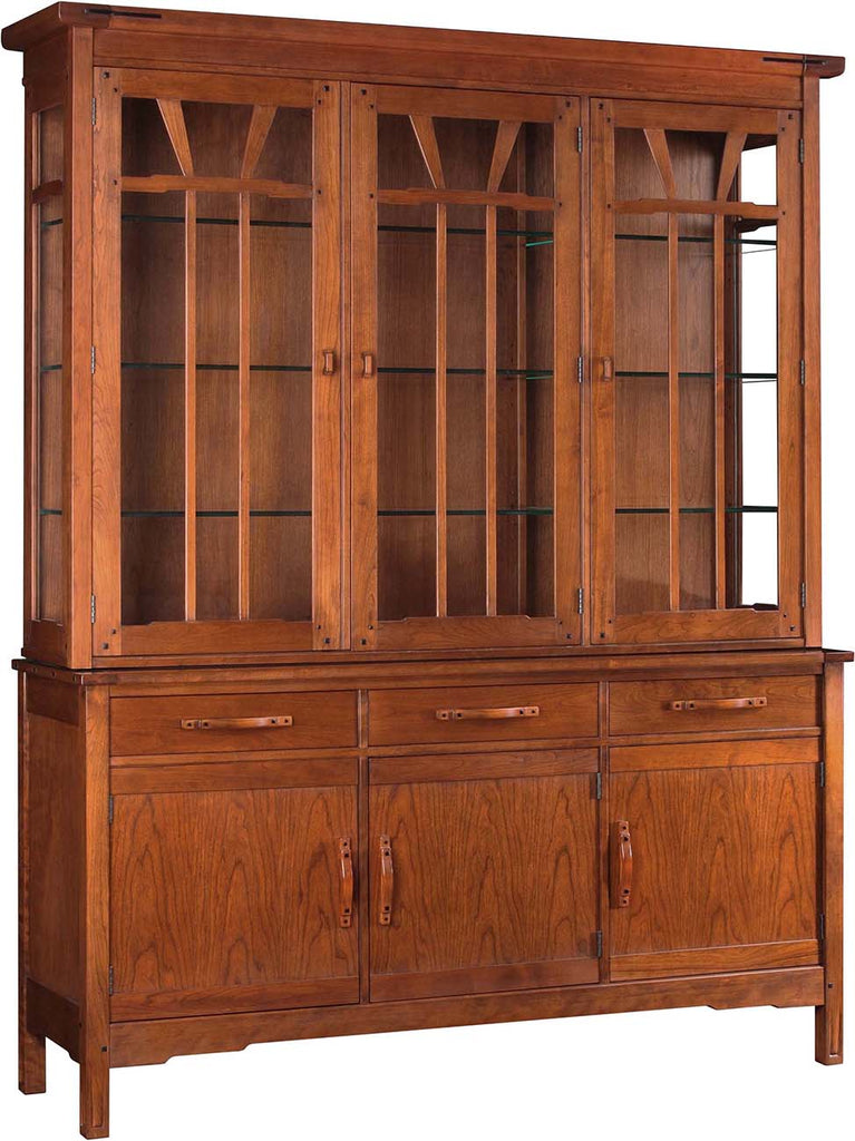 Gamble House China Top Cabinet Stickley - Jordans Interiors