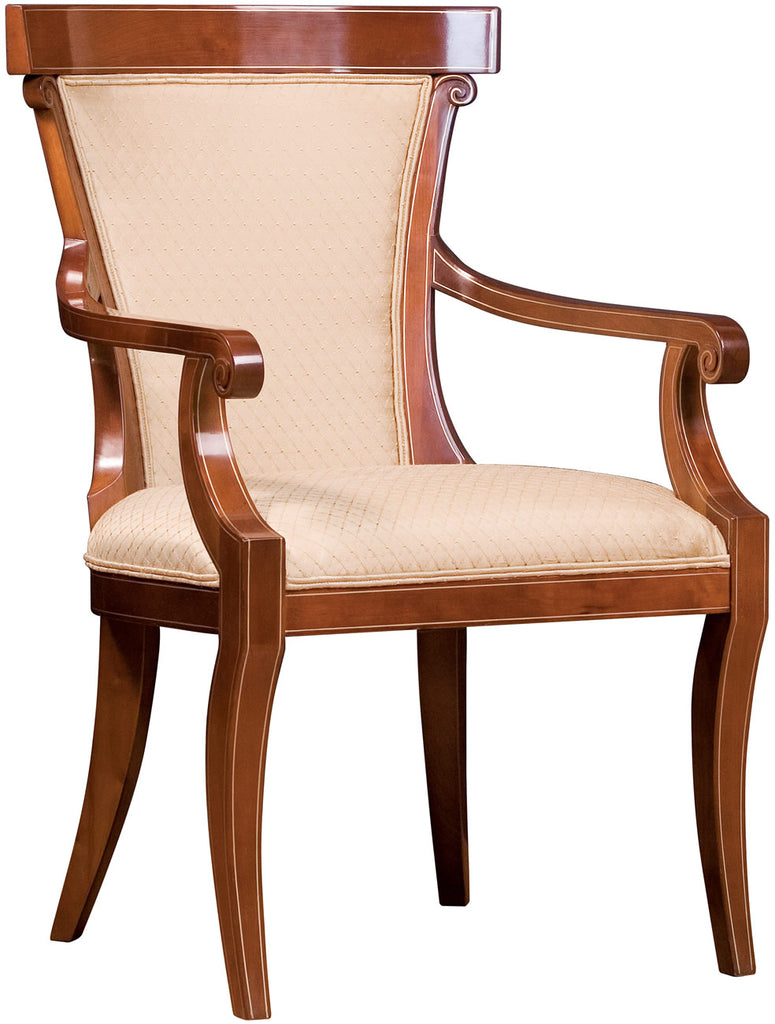 Klismos Arm Chair Chair Stickley - Jordans Interiors