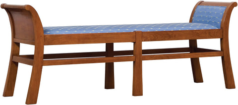 Grand Chareau Bench Bench Stickley - Jordans Interiors
