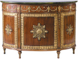 Robert Adam Demi-lune Commode Console Table Stickley - Jordans Interiors