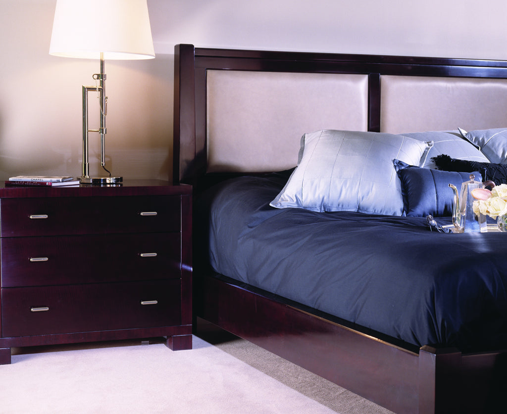 Upholstered Low Post Bed Bed Stickley - Jordans Interiors