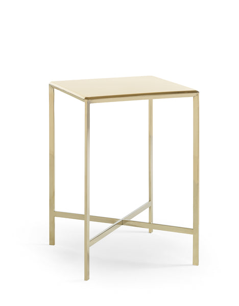 Gold Bullion Side Table Side Table Caracole - Jordans Interiors