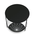 Reflectology Side Table Side Table Caracole - Jordans Interiors