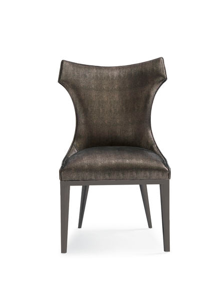 The Urbane Dining Side Chair Dining Chair Caracole - Jordans Interiors