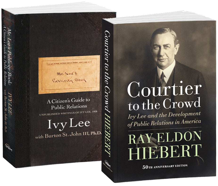 Courtier to the Crowd and Mr. Lee's Publicity Book combo