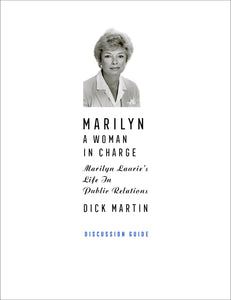 Discussion Guide to Marilyn: A Woman In Charge