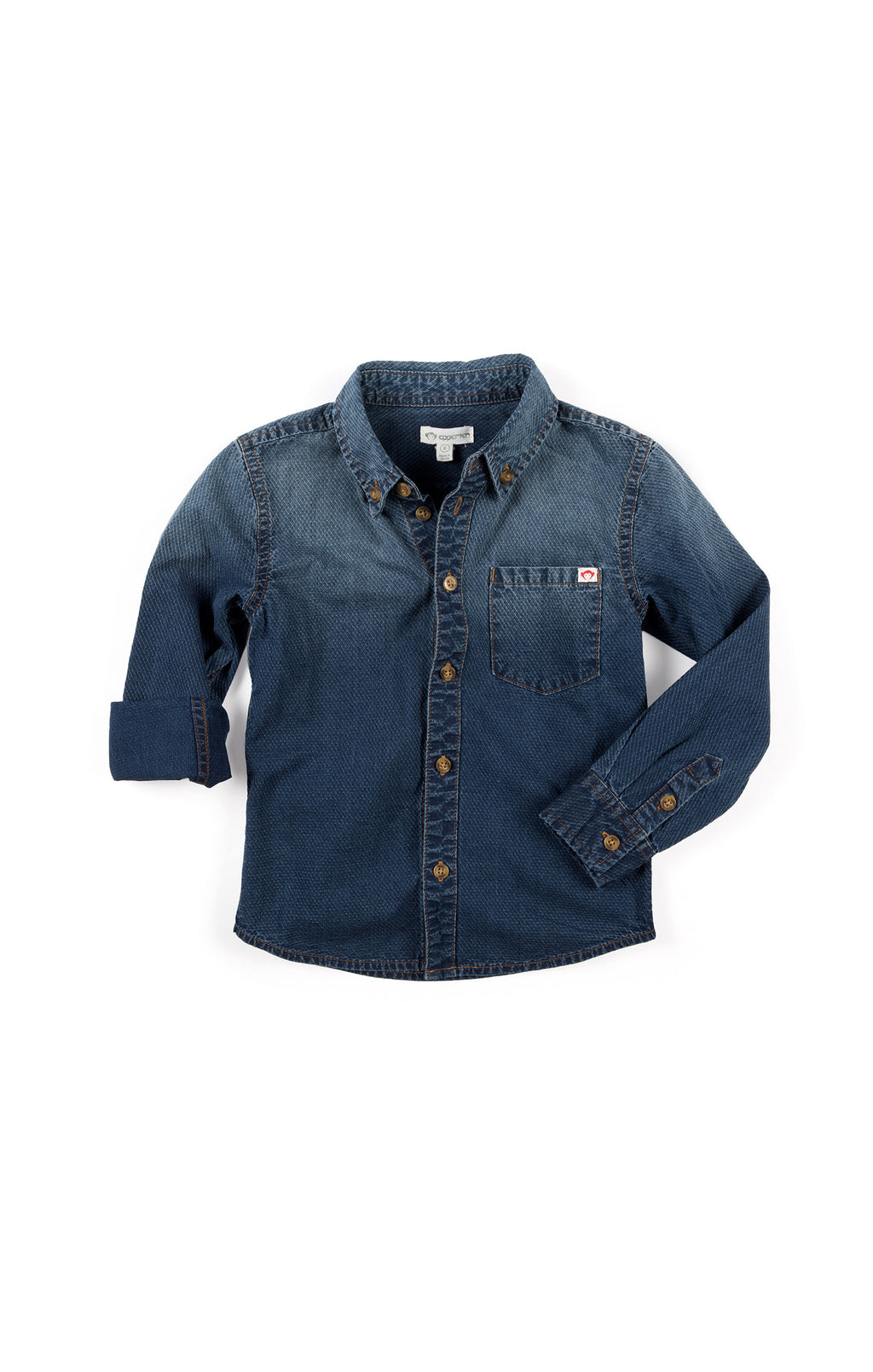 Ombre Denim Shirt | Unique Finds for Kids