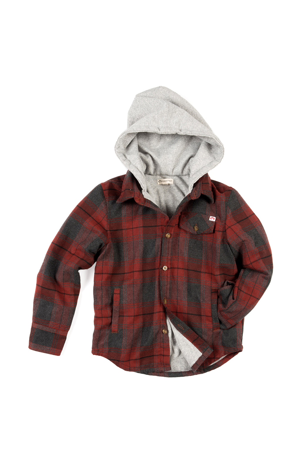 Glen Hooded Shirt | Unique Finds for Kids