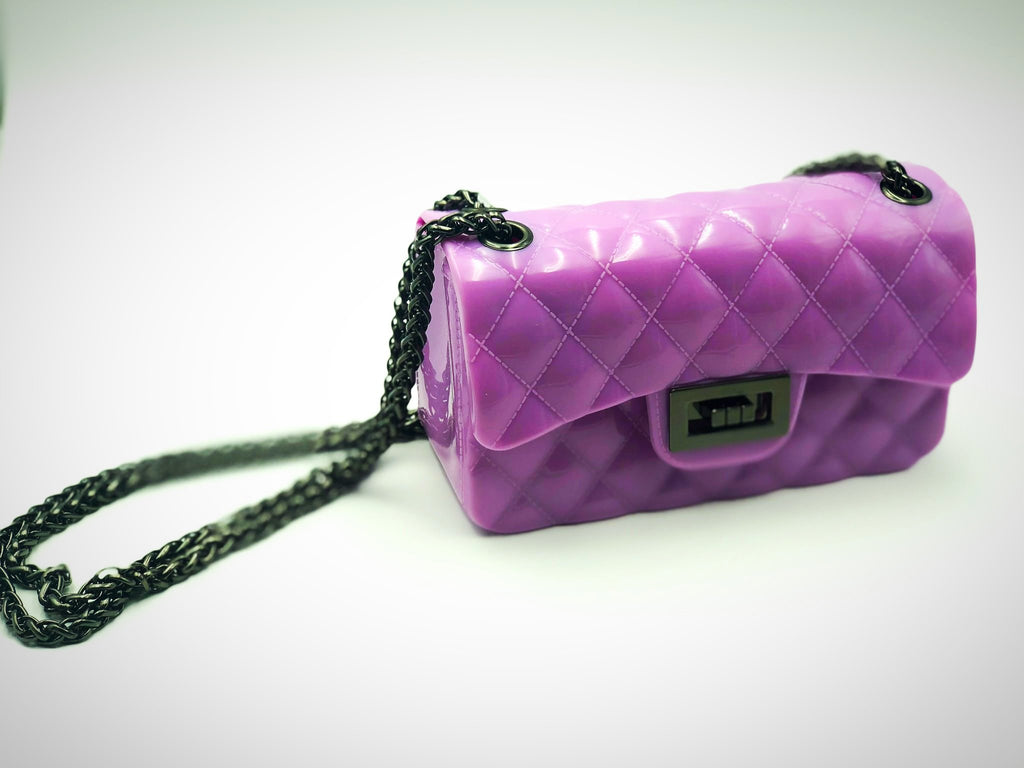 Lilac Quilted Jelly Purse | Unique Finds for Kids