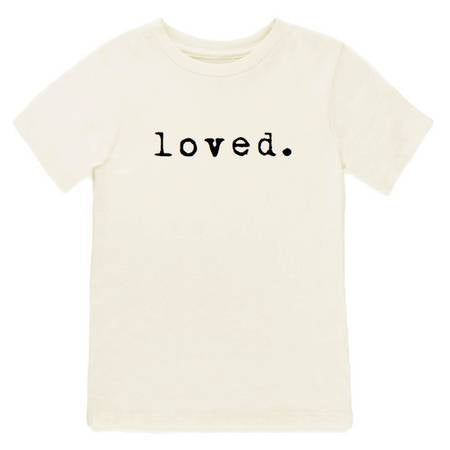 Loved Short Sleeve Tee | Unique Finds For Kids