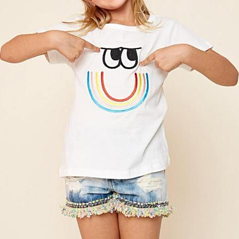 Smiley T-Shirt | Unique Finds for Kids