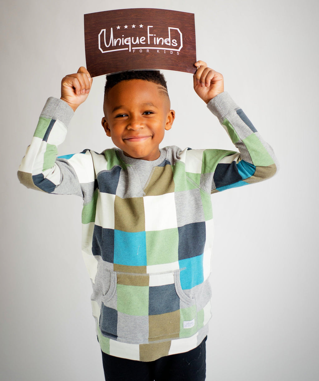 Square Crew Neck | Unique Finds for Kids
