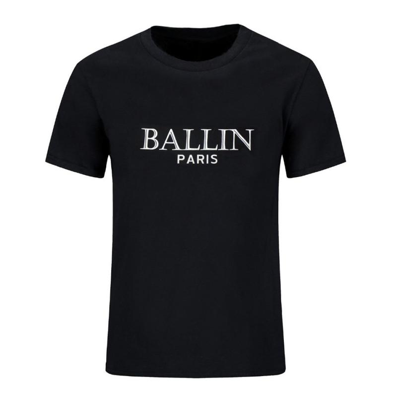 Super cool black t-shirt for boys; Ballin; Paris;