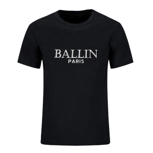 Super cool black t-shirt for boys; Ballin; Paris Unique Finds For Kids