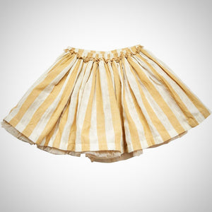 PINK CHICKEN GIANNA SKIRT – CORNSTALK WIDE STRIPE, Size 10Y