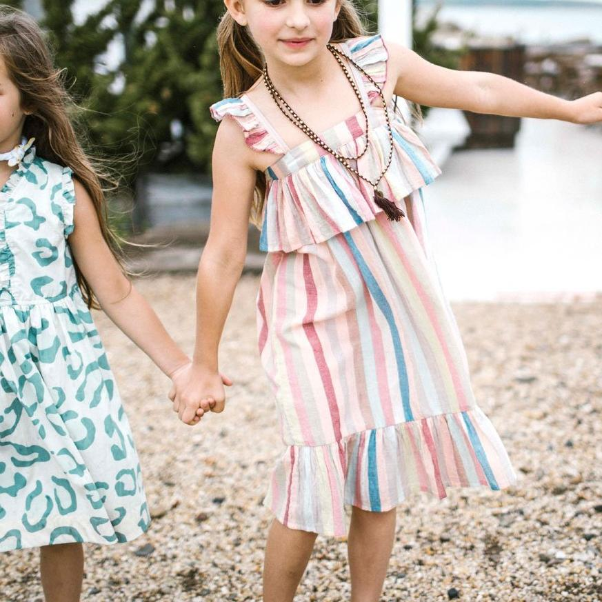 Unique Finds for kids_Amalia Dress_Pink Chicken