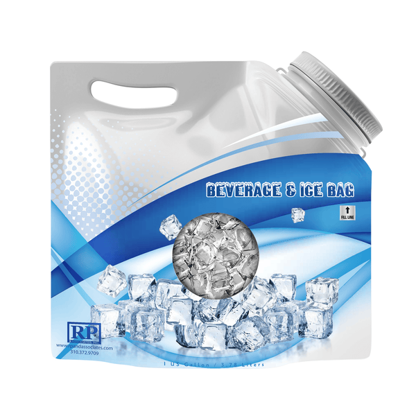 Beverage Bag 1 & 1/2 Gallon Wide Mouth (Case of 25)