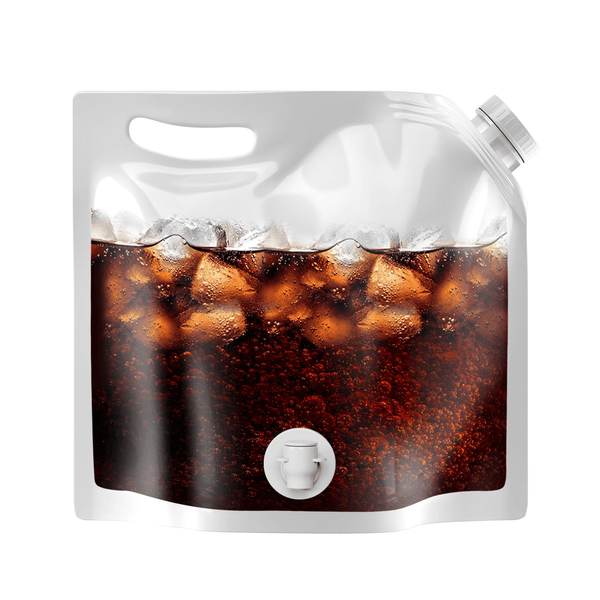 Clear 1 Gallon Beverage Bag with Spigot $0.99 (Case of 150)
