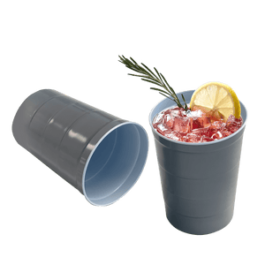 Steel Cups, Pack of 10 for $19.99 -- Designed to replace the equivalent usage of 1000 plastic cups!
