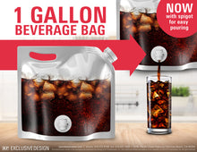 Clear Beverage Bag with Spigot $1.99 (Case of 150)