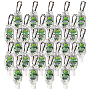 Sea & Ski Hand Sanitizer Gel 2.4 FL OZ Travel Carabiner (Case of 24)