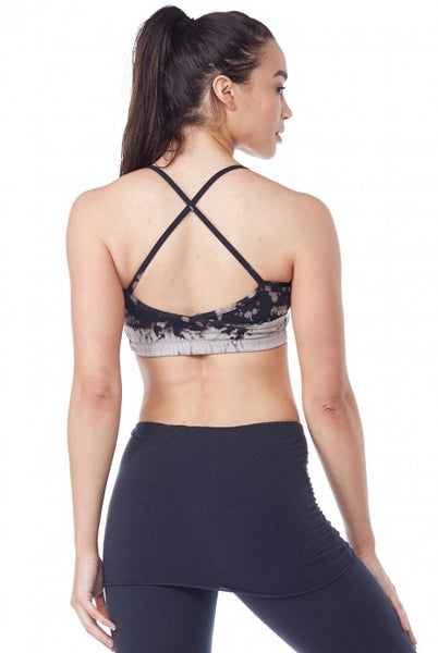 Crossback Sports Bra Frost