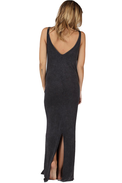 Pocket Maxi Dress - LVR Fashion