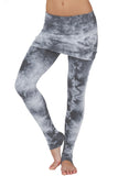 Foldover Leggings Crystal - LVR Fashion