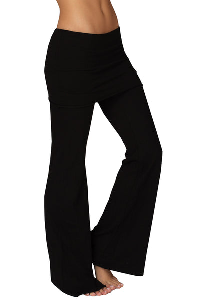 French Terry Foldover Lounge Pants - LVR Fashion