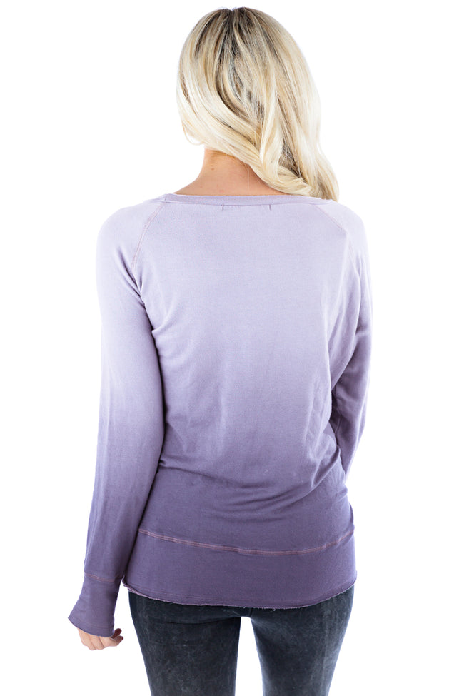 Raw Pullover Ombre - LVR Fashion