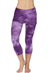 Lightweight Foldover Capris Crystal - LVR Fashion