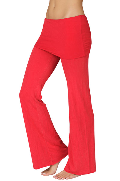 Foldover Yoga Pants - LVR Fashion