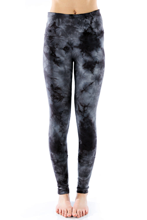 Basic Cuffed Leggings Crystal