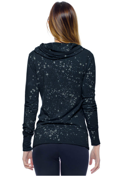 Asymmetrical Hoodie Galaxy - LVR Fashion