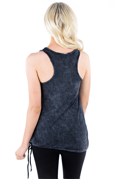 Drawstring Tank - LVR Fashion