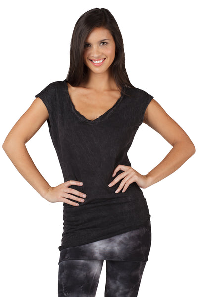 Angled Bottom Muscle Tee