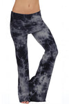 French Terry Foldover Lounge Pants Crystal - LVR Fashion