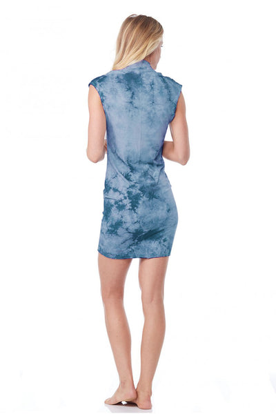 Sleeveless Mini Dress Crystal - LVR Fashion