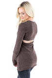 Cut Out Tunic - LVR Fashion