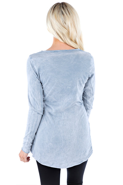 Longsleeve Wrap Top - LVR Fashion