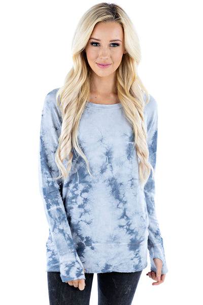 Raw Pullover Crystal - LVR Fashion