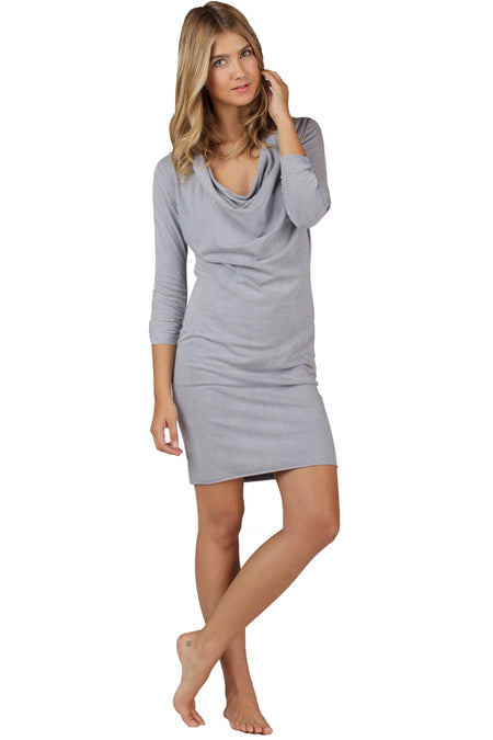 3/4 Sleeve Mini Dress Crystal