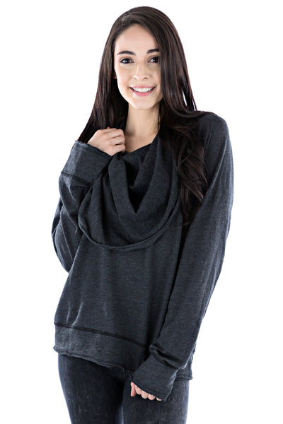 Pullover Cowl Hoodie - LVR Fashion