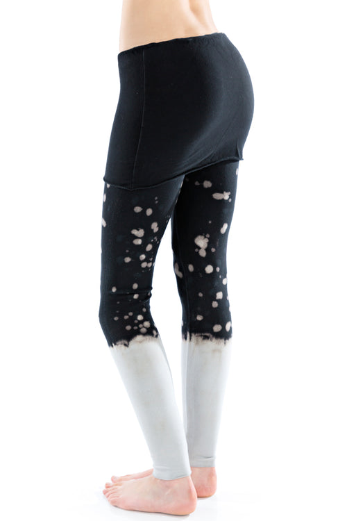 Foldover Leggings Frost Splatter