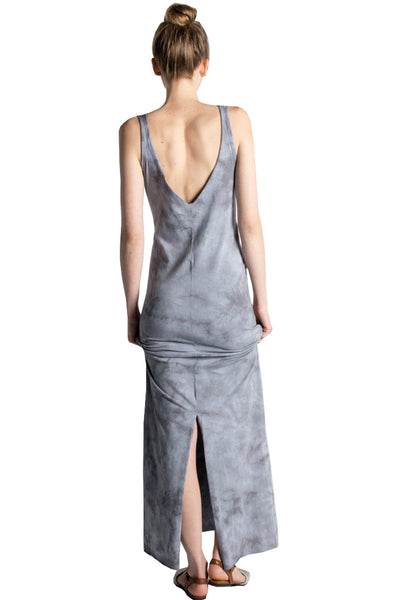 Pocket Maxi Dress Crystal - LVR Fashion