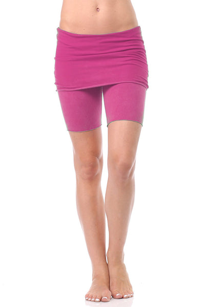 Foldover Yoga Shorts - LVR Fashion